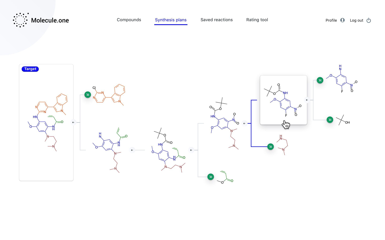 Molecule.one créé un système pour fabriquer des molécules.