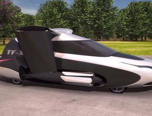 La voiture volante TFX de Terrafugia