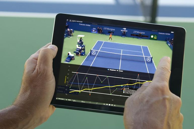 Coach Advisor est capable d'analyser les performances des tennismen.