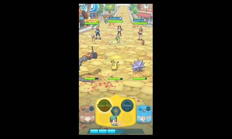 pokémon masters jeu mobile