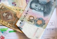 Des billets de yuan, la monnaie chinoise