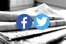 trafic social media des médias de la presse en ligne