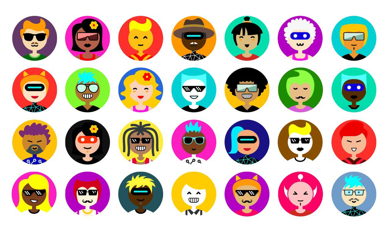 différents avatars
