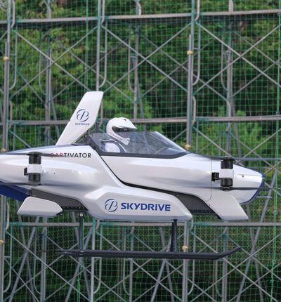 Aperçu du prototype SD-03 de SkyDrive.