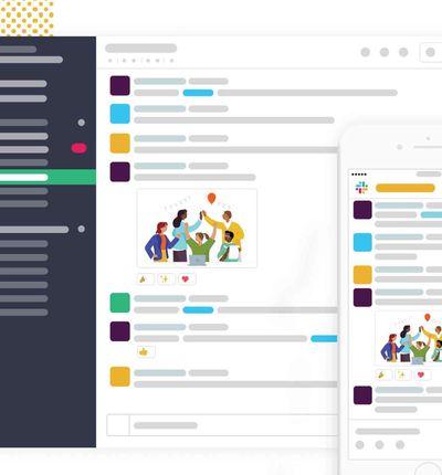 Slack propose plus de sécurité aux professionnels.
