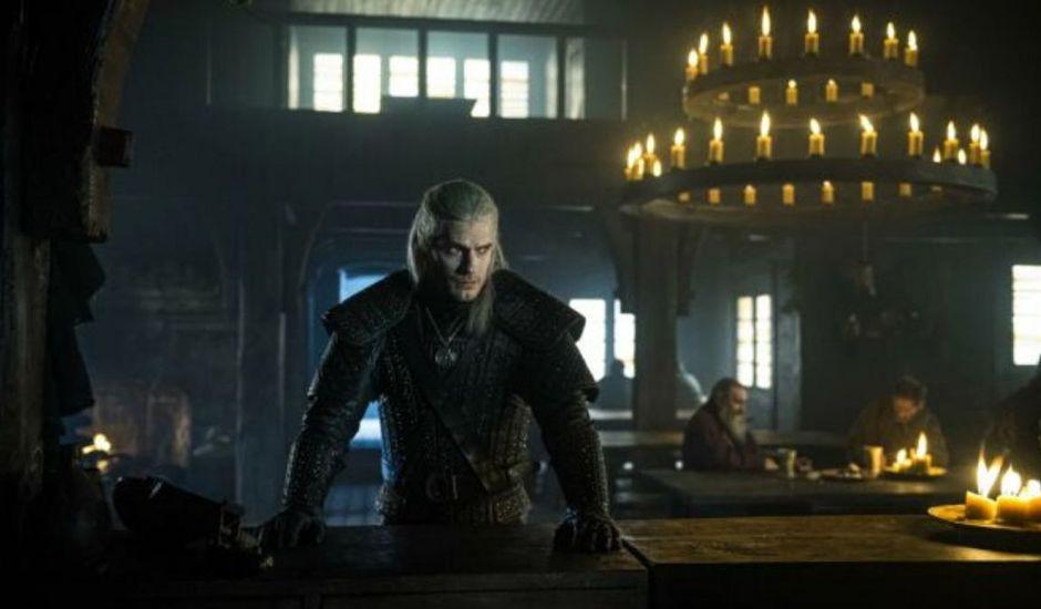 Henry Cavill dans la série The Witcher