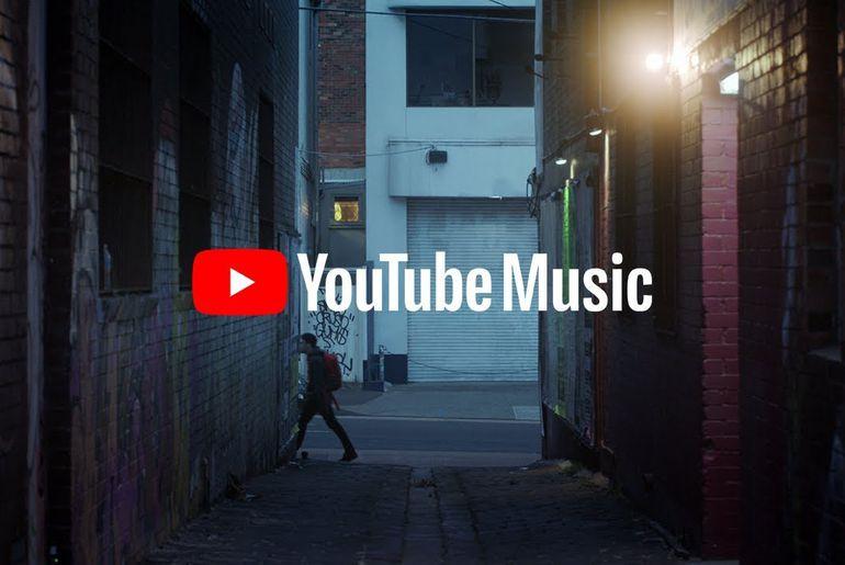 YouTube Music par défaut sur les nouveaux appareils Android 9 et 10