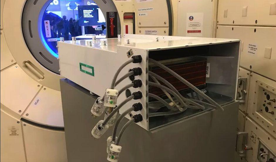 Le superordinateur de l'ISS de retour sur terre pour un examen capitale