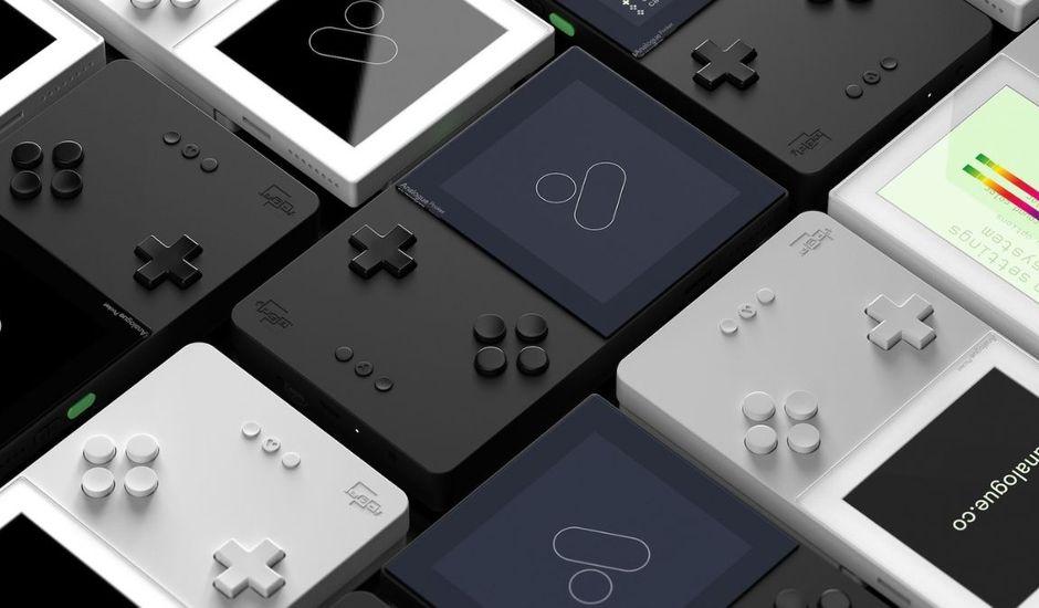 Visuel promotionnel de la console Analogue Pocket