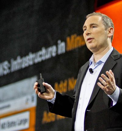 Photo CEO de Amazon web services, andy jassy