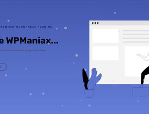 neige qui tombe sur site Wordpress