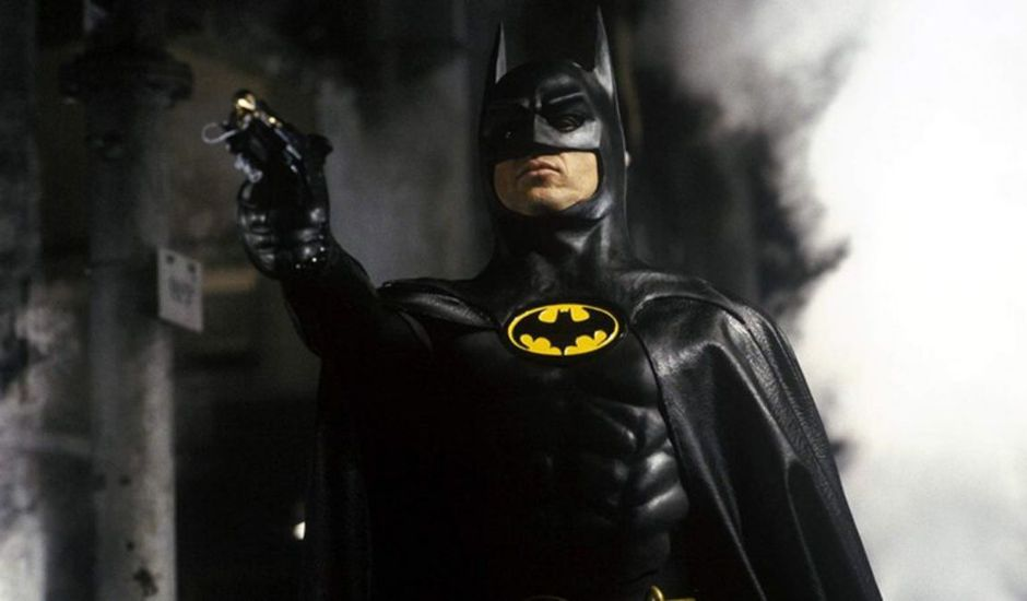 Michael Keaton interprétant Batman