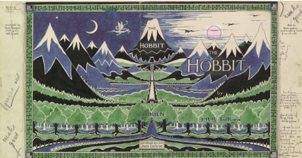 Une veille édition du livre de Tolkien