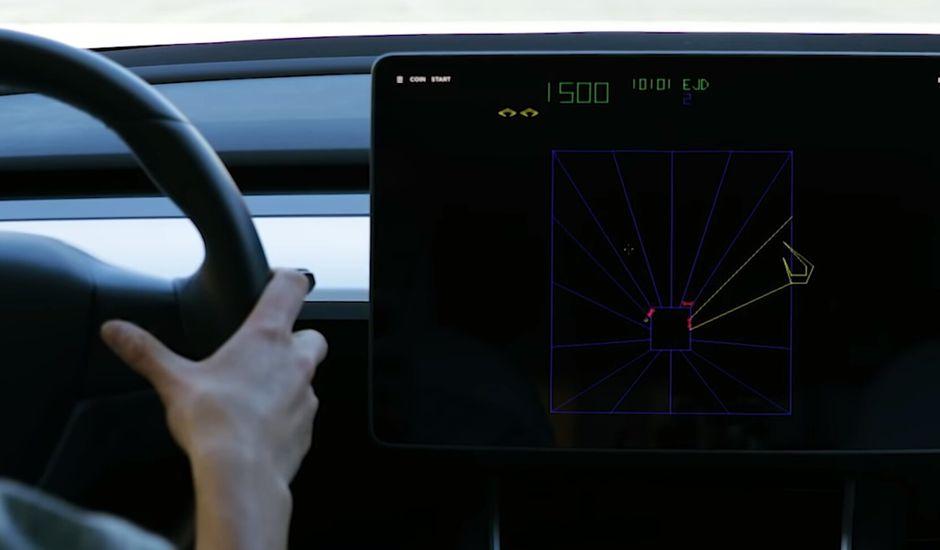 Tesla ajoute deux nouveaux jeux