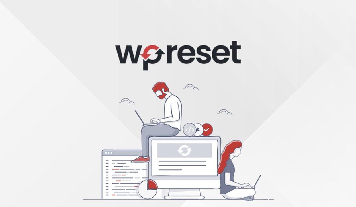 illustration du plugin WP Reset