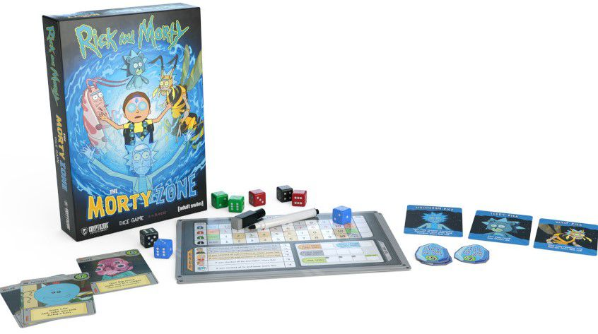 rick et morty jeu de societe the morty zone