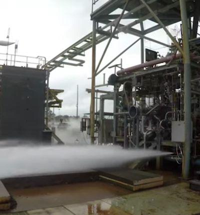 Test sur Vega par l' ESA