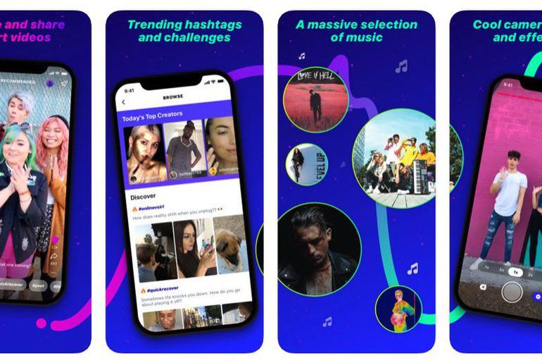 L'application Lasso de Facebook est disponible pour iOS et Android