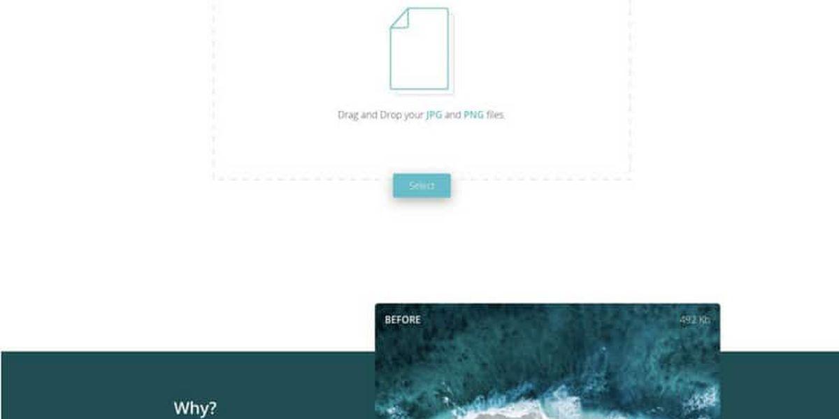 ShrinK Me : Un compresseur d'image gratuit pour un site qui se charge plus rapidement