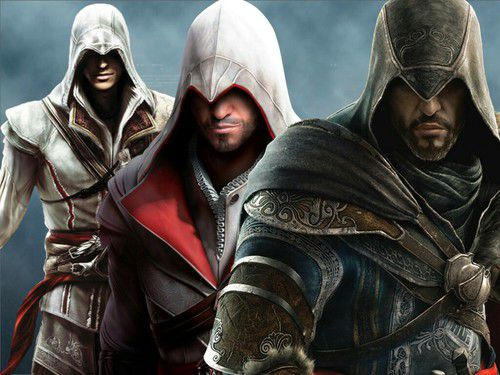 Evolution d'Ezio Assassin's Creed