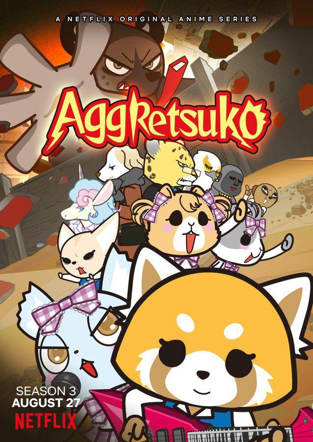 Affiche de la saison 3 d'Aggretsuko