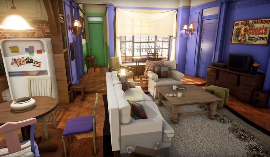 unreal engine 4 friends appartement