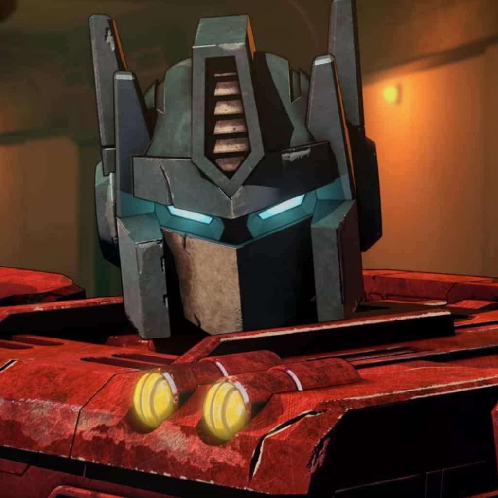 cybertron anime netflix transformers