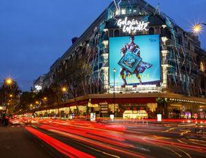 Aperçu du quartier Opéra à Paris.
