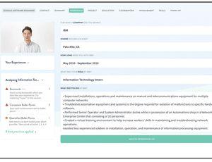 fonctionnement de l'outil pour créer un CV Rezi