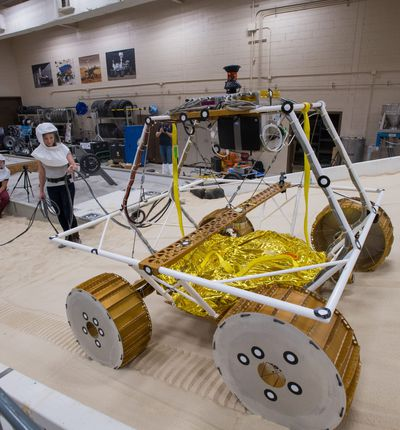 Le rover VIPER de la NASA.