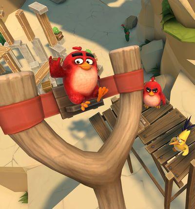 extrait du jeu Angry Birds VR: Isle of Pig
