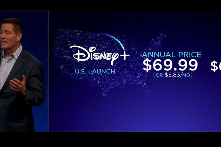 Disney+ arrive aux États-Unis dès la rentrée prochaine