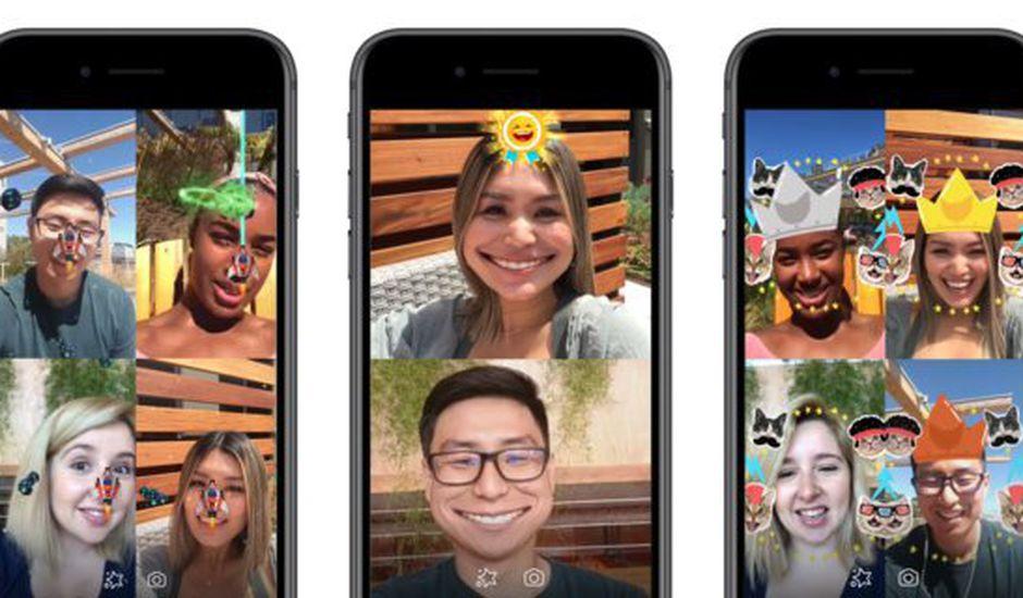 Facebook lance des jeux en réalité augmentée sur Messenger !