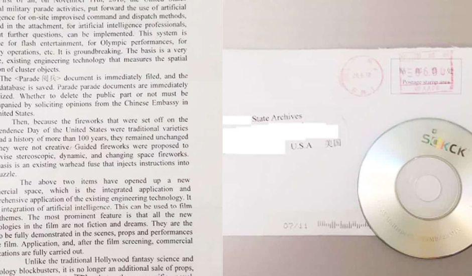 Des hackers chinois ont envoyé des mini CD gravés contenant des logiciels malveillants aux USA