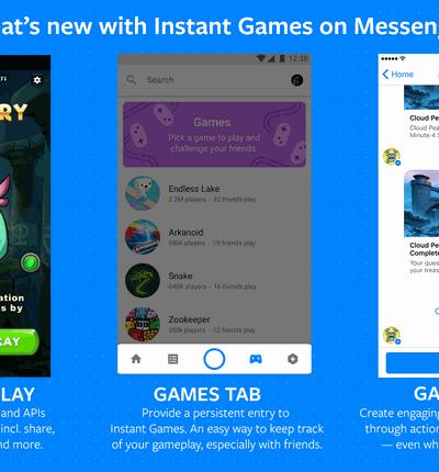 Facebook F8 Instant Games