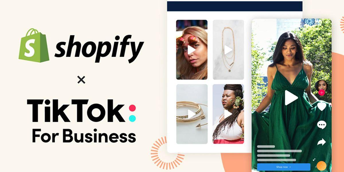 TikTok et Shopify s'allient pour doper le e-Commerce