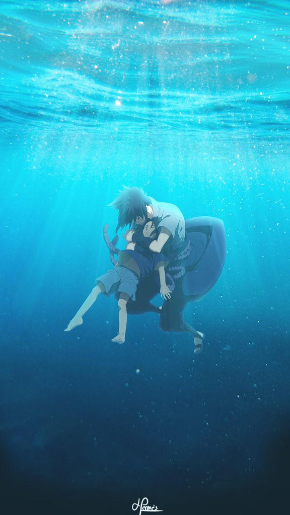 Fond d'écran d'Itachi et Sasuke