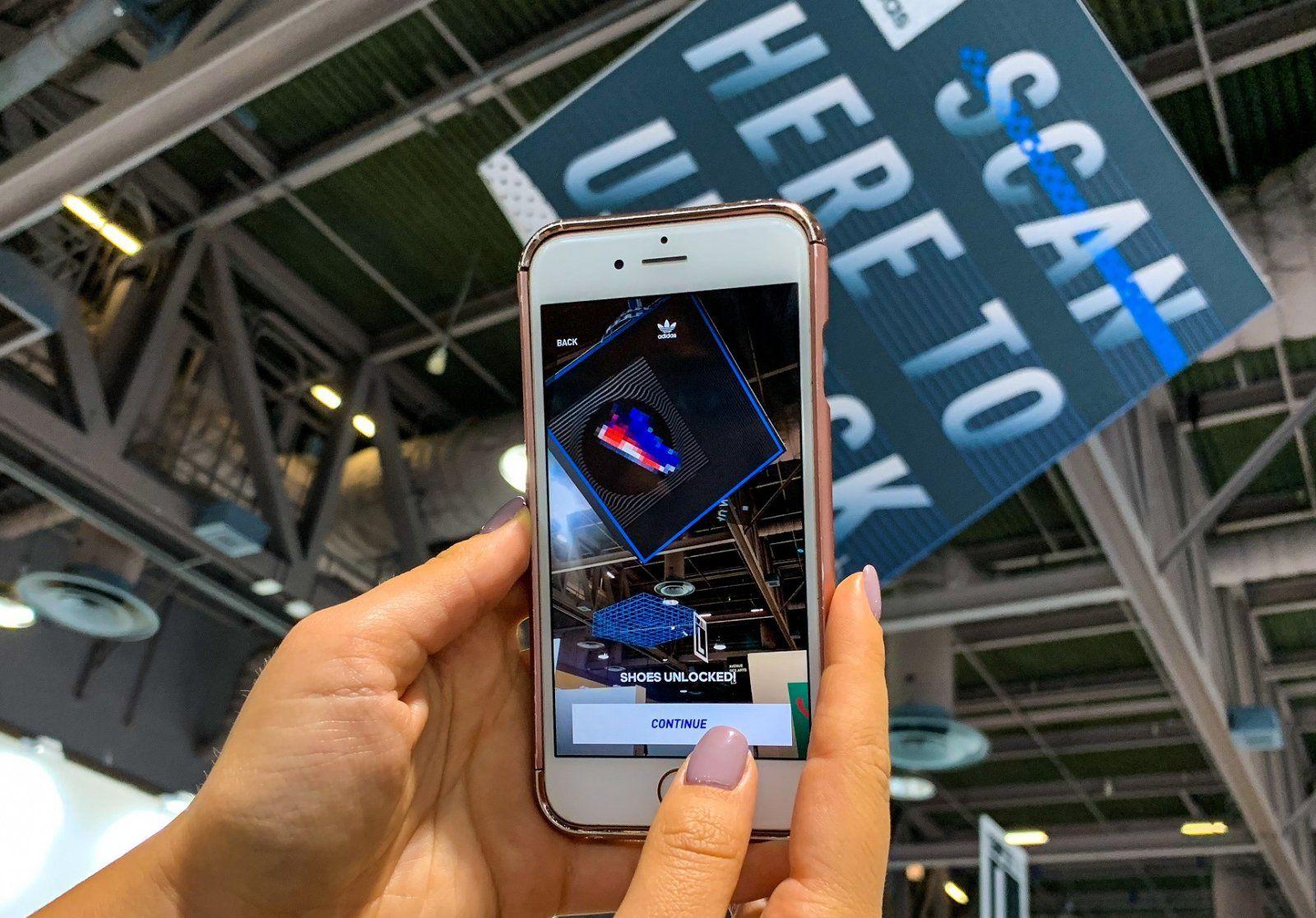Adidas fait appel à la réalité augmentée pour vendre des