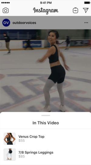 Instagram : les marques vont pouvoir vendre leurs produits à travers les vidéos
