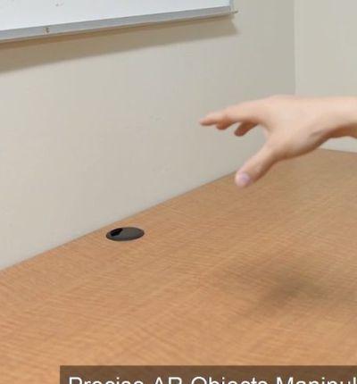 Ces chercheurs travaillent sur la réalité augmentée des mains.