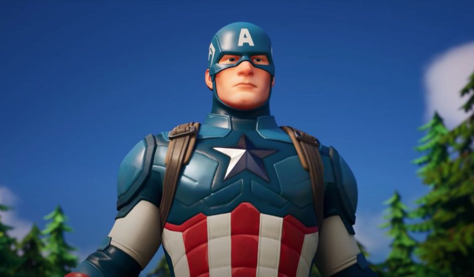 Captain America dans Fortnite
