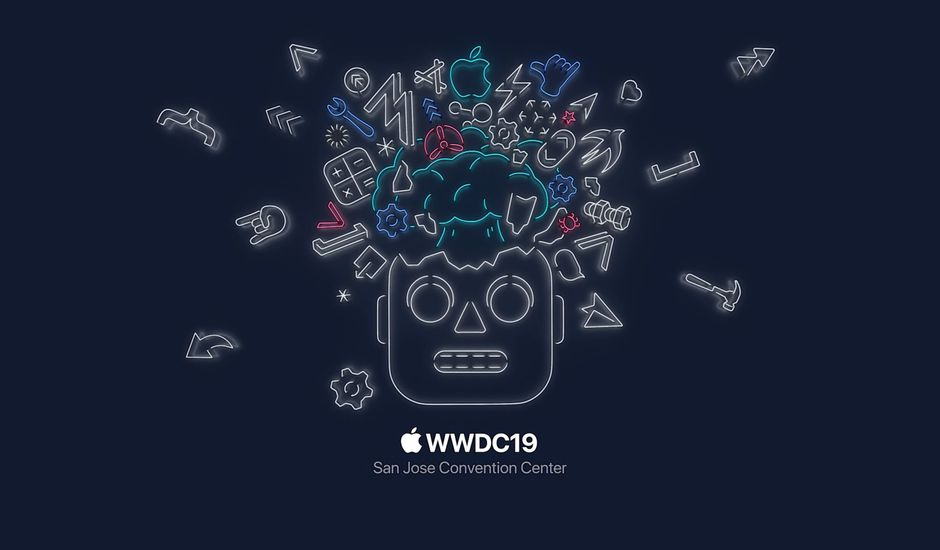 illustration WWDC19 événement Apple