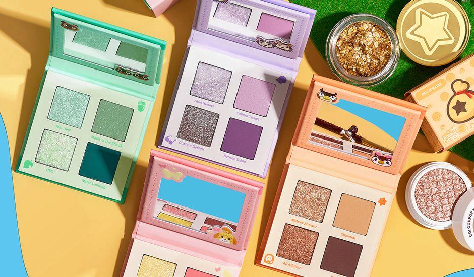 Nintendo et ColourPop lancent une collection de maquillage inspirée du jeu Animal Crossing.
