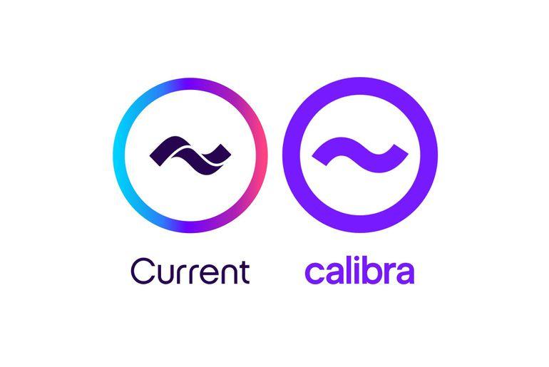 Le logo de Calibra de Facebook, copié sur celui de la banque Current ?