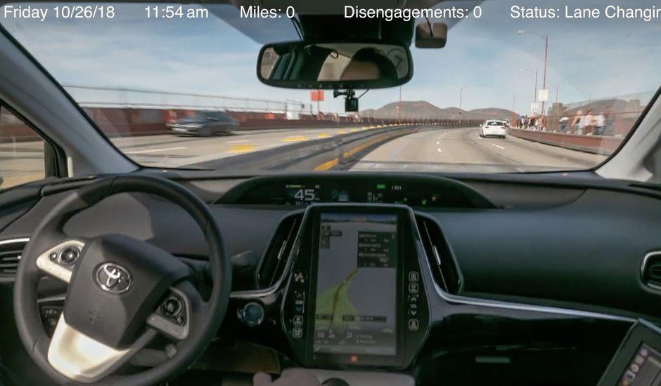 Le plus long trajet réalisé par une voiture autonome serait de 5000 km
