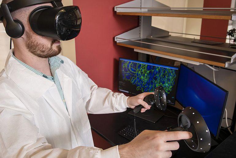 microscope VR