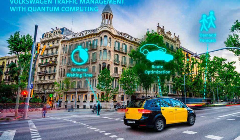 Volkswagen veut utiliser la puissance du quantique pour optimiser le trafic.