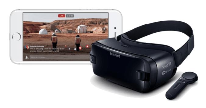 facebook live VR