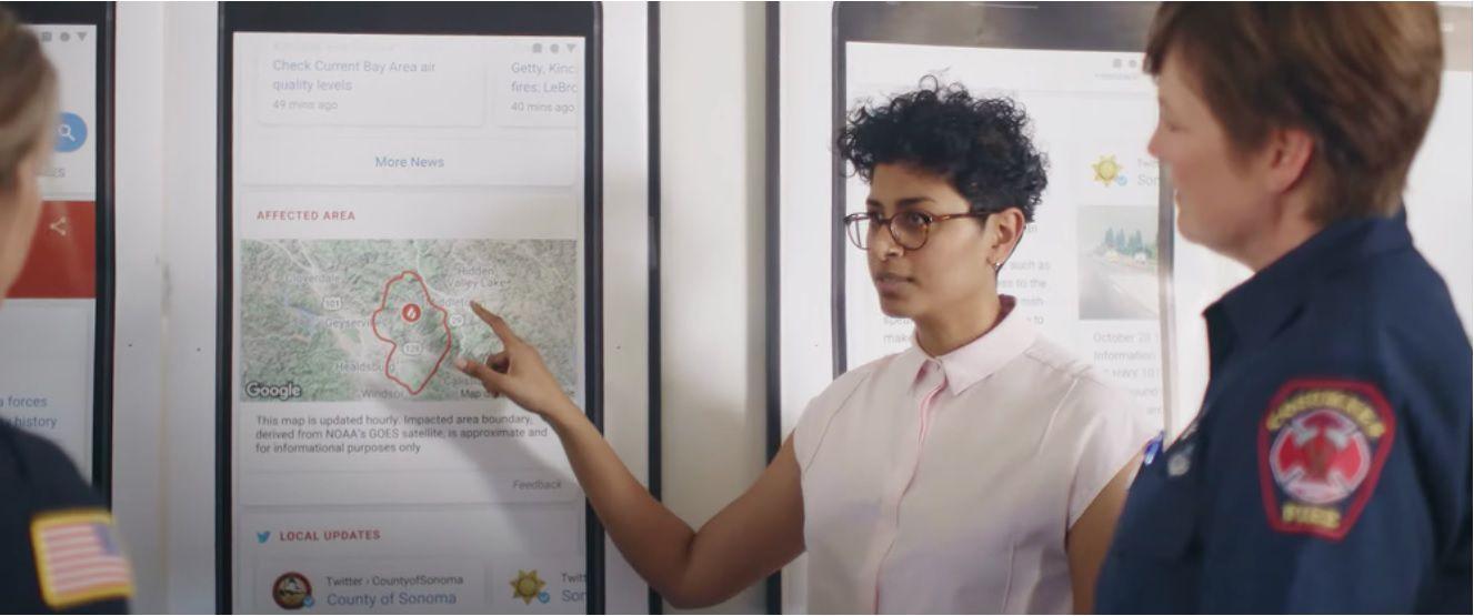 Le projet de Google dans le lutte contre les incendies