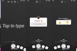 nouvelle interface utilisateur sur les stories Instagram